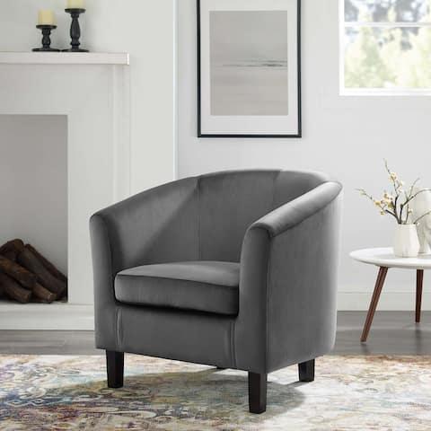 Prospect Performance Velvet Armchair