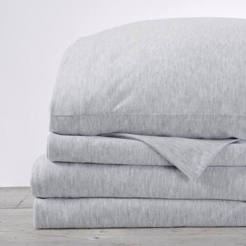 Great Bay Home Tech Knit Super Soft Jersey Sheet Set