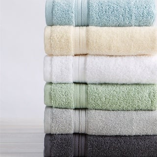 Link to Great Bay Home Cooper Quick Dry Cotton Bath Towels & Sets Similar Items in Towels