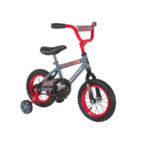 "Magna Gravel Blaster 12"" Bike - Grey - For Ages 2-4"