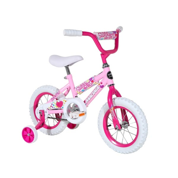 "Magna Sweetheart 12"" Bike - Pink - For Ages 2-4. Opens flyout."