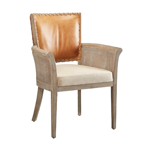 Range Leather and Hide Arm Chair