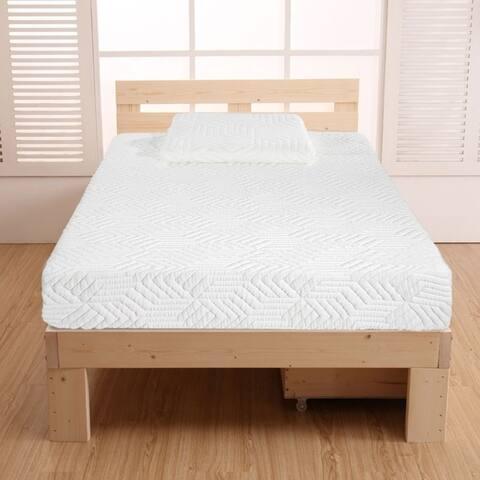 """10"""" COOL Medium firm 3 Layers Softness Mattress with 2 Pillows Set"""