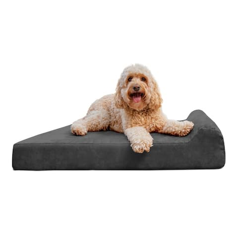 "Replacement Cover for Barker Junior 4"" Dog Bed - Headrest Edition"