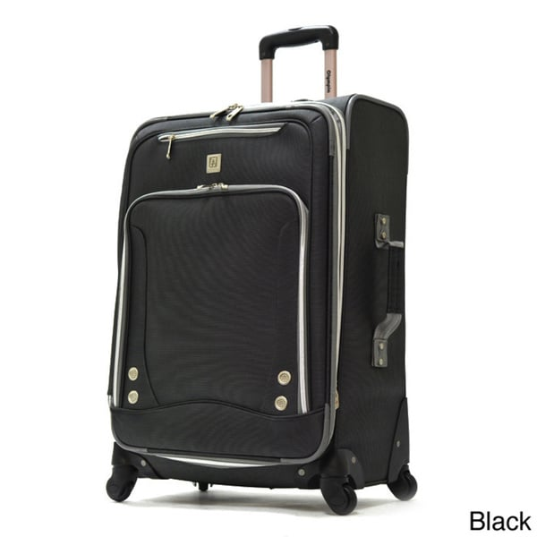763207d0f Shop Olympia Skyhawk 26-inch Expandable Spinner Upright Suitcase ...