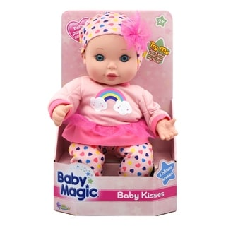 Link to Baby Magic Baby Kisses Toy Interactive Baby Doll Similar Items in Dolls & Dollhouses
