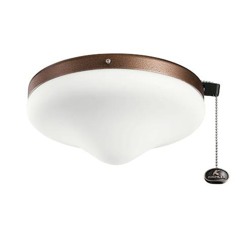 Kichler Lighting LED Outdoor Wet Light Kit Weathered Copper Coat