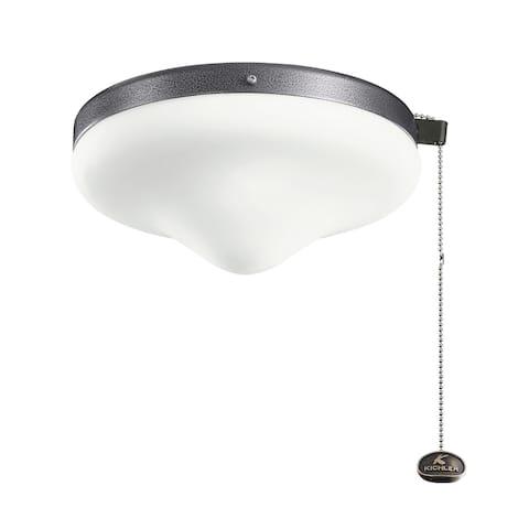Kichler Lighting LED Outdoor Wet Light Kit Weathered Steel Powder Coat