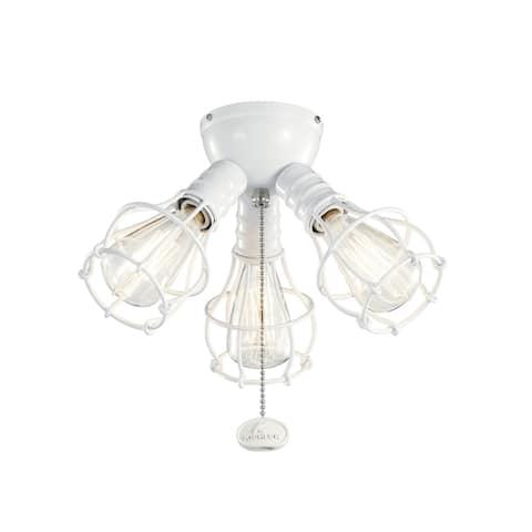 Kichler Lighting LED Industrial 3-Light Fixture White