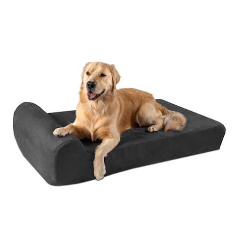 "Replacement Cover for Big Barker 7"" Orthopedic Dog Bed - Headrest"