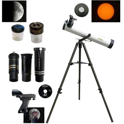 Galileo 800mm x 80mm Reflector Telescope w/ZOOM Lens & Solar Filter