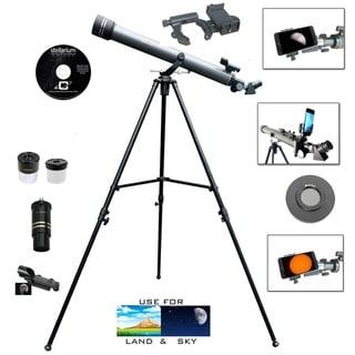 Link to Galileo 700mm x 60mm Telescope Kit w/Smartphone Adapter & Solar Filter Similar Items in Optics & Binoculars