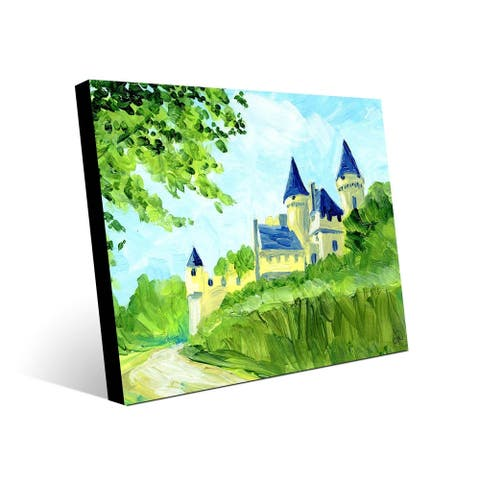 Kathy Ireland Dordogne France in the Summertime on Metal Wall Art Print