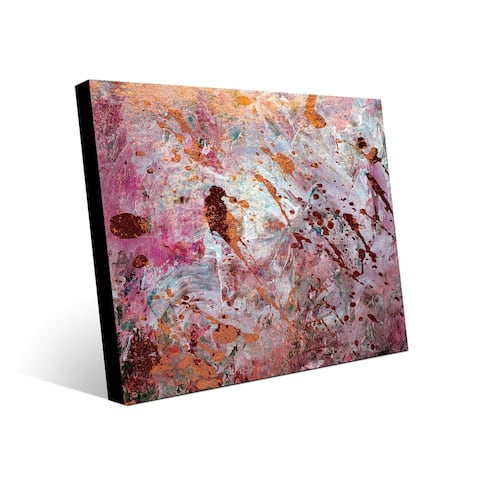 Kathy Ireland A Series Of Rusted Watches on Sepia Brown Abstract on Acrylic Wall Art Print
