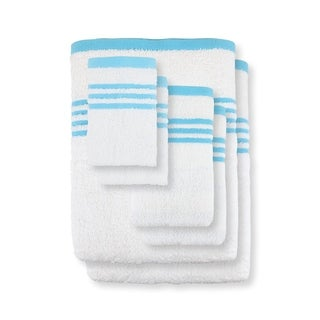 Metro 100% Cotton 6-Pc Towel Set, Striped Dobby