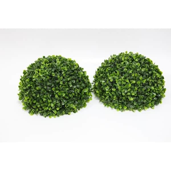8 Inch Boxwood Ball Artificial Home D/écor Premium Quality