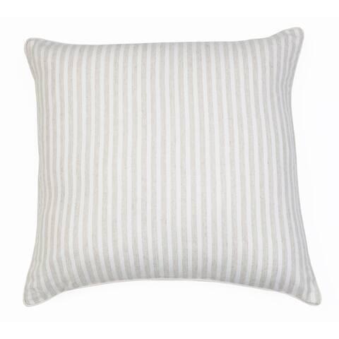 22x22 Brantlee Lurex Stripe Pillow
