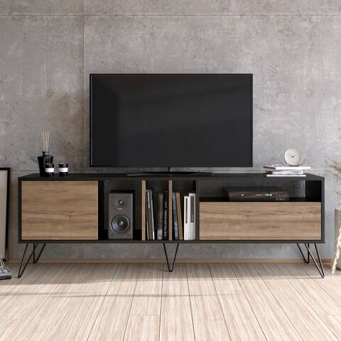 Decorotika Mistico TV Stand & Console for TVs up to 80'' with Cabinets