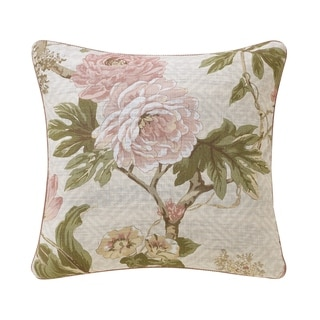 Link to Rose Tree Mariella Floral Throw Pillow Similar Items in As Is