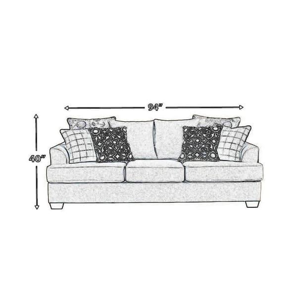 Fabric Upholstered Queen Sofa Sleeper