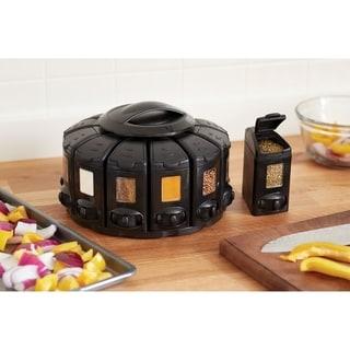 KitchenArt 25004 Select-A-Spice Auto-Measure ProCarousel, Black