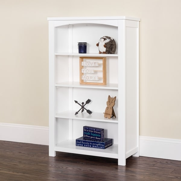 """Harmony 50"""" Bookcase with 4 shelves - by Forever Eclectic. Opens flyout."""