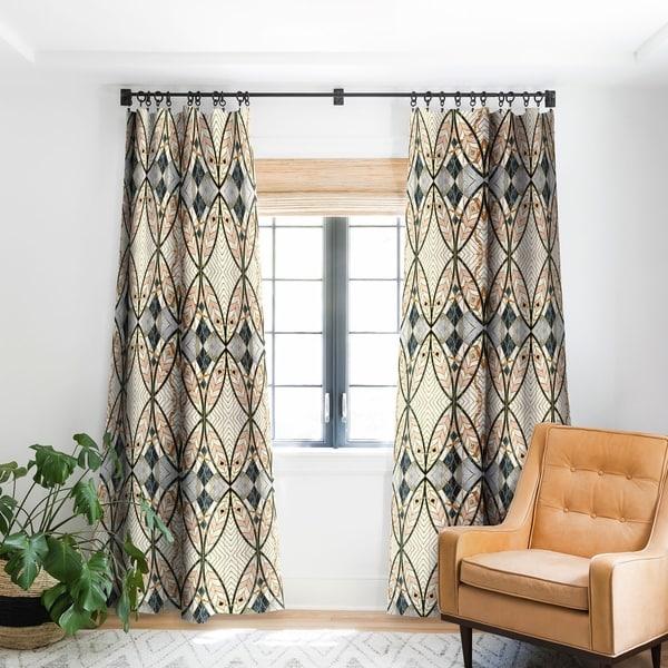 Marta Barragan Camarasa Pattern Mosaic Art Deco I Blackout Curtain Panel 96 Inches (As Is Item)