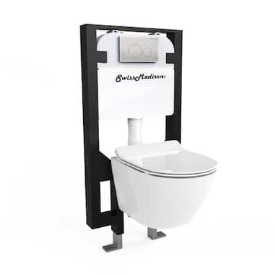 Swiss Madison St. Tropez Wall Hung Toilet Set