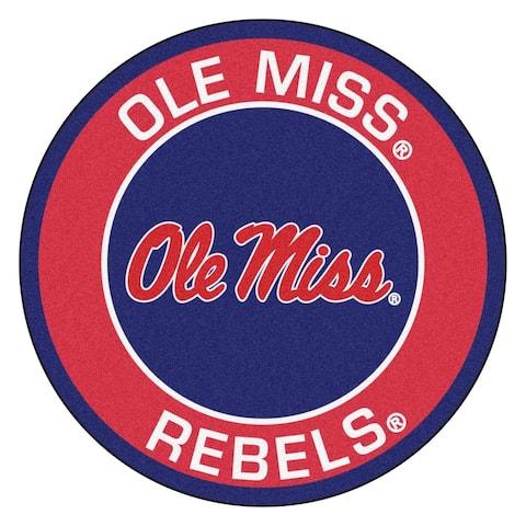 FANMATS University of Mississippi (Ole Miss) Roundel