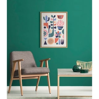 Link to Kate and Laurel Sylvie Succulents Framed Canvas by Rachel Lee Similar Items in Canvas Art