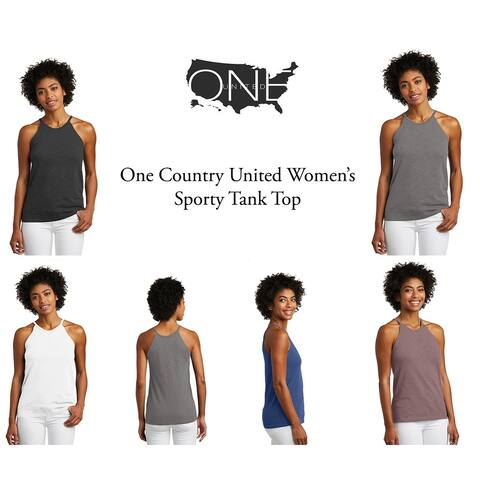 One Country United Women's Sporty Tank Top