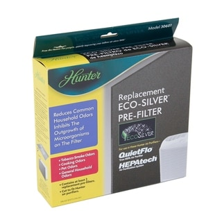 Hunter 30601 EcoSilver® Universal Replacement Air Purifier Pre-Filter