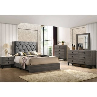 Link to Best Quality Furniture Madelyn 4-Piece Bedroom Set with Extra Chest Similar Items in Bedroom Furniture