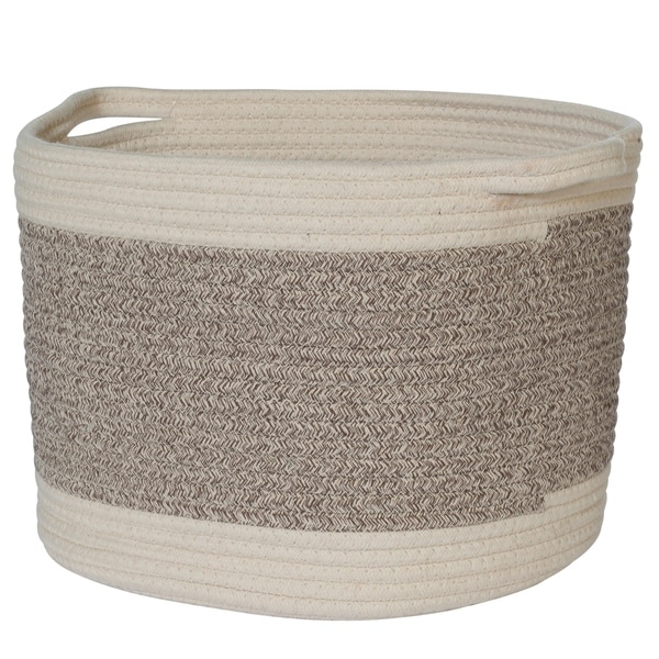 Creative Bath Essentials Cotton Rope Baskets. Opens flyout.