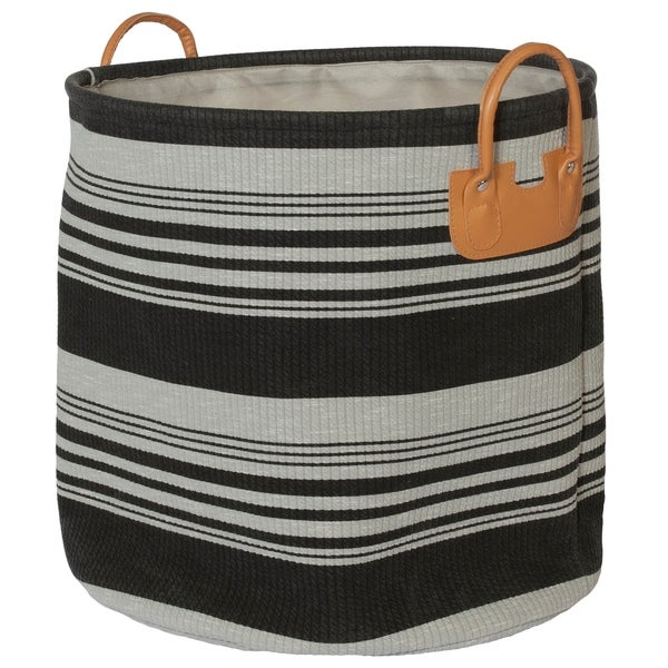 Creative Bath Striped Collection Hampers with PVC Handles. Opens flyout.