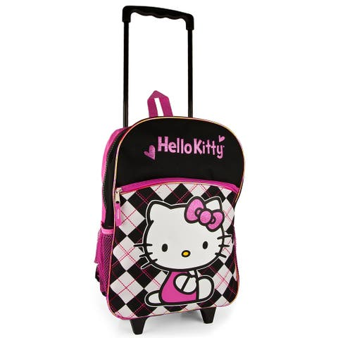 Sanrio Hello Kitty Large Rolling Backpack - Rolling Backpack