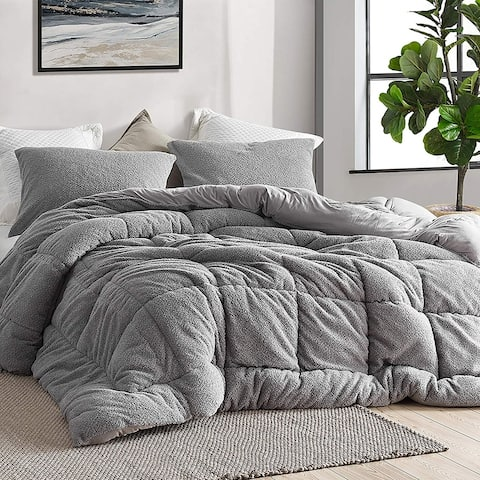 Oh Sweetie Bare - Coma Inducer Oversized Comforter - Alloy (Shams Not Included)