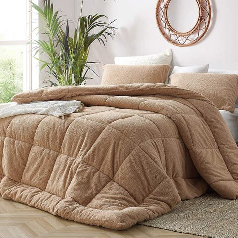 Oh Sweetie - Coma Inducer Oversized Comforter - Toasted Almond (Shams Not Included)