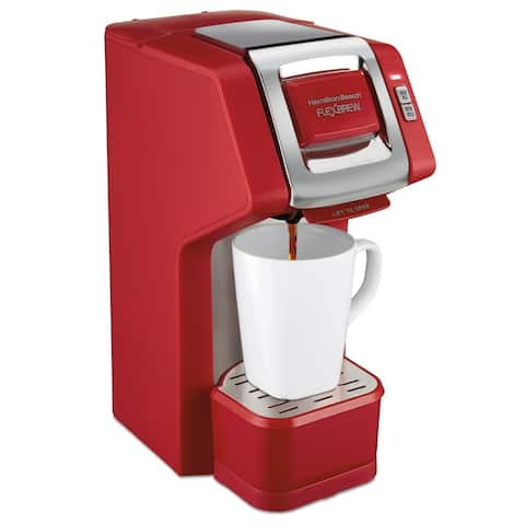 Hamilton Beach FlexBrew Single-Serve Coffee Maker Red