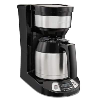 Hamilton Beach 8 Cup Programmable Coffee Maker with Thermal Carafe