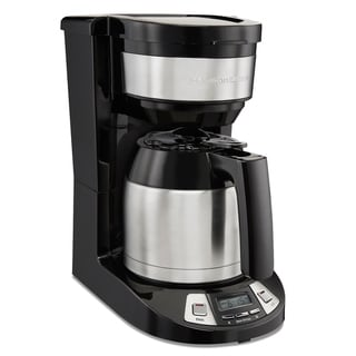 Link to Hamilton Beach 8 Cup Programmable Coffee Maker with Thermal Carafe Similar Items in Coffee Makers