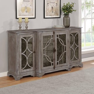 Link to Best Quality Furniture Wood Dining Server with 4 Large Cabinets Similar Items in Dining Room & Bar Furniture