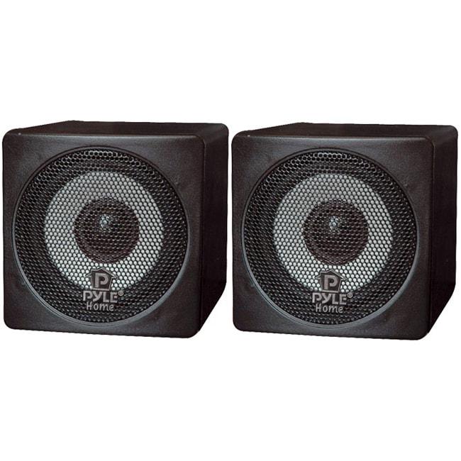 PylePro 3-inch 100-watt Mini Cube Speakers