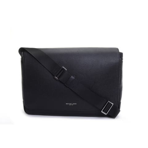 Michael Kors Russel Large Messanger Bag Black 37T7LRUM3L