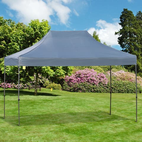 Outsunny 9.7 ft x 14.5 ft Folding Tent with Bag