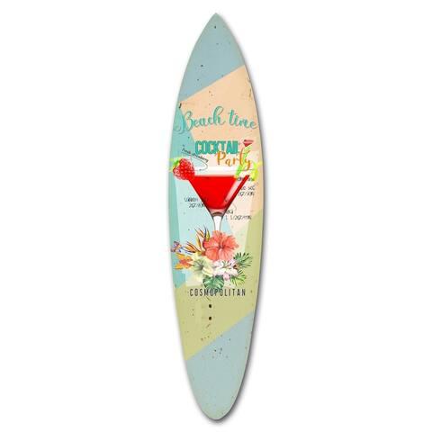 Screen Gems Cocktail Surfboard Wall Art SGW91912