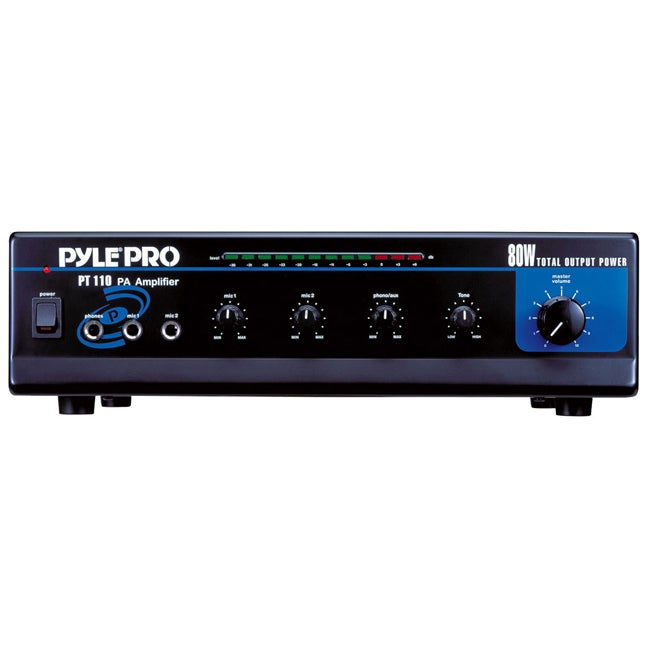 Pylepro Ac Dc Microphone Pa Amplifier Free Shipping