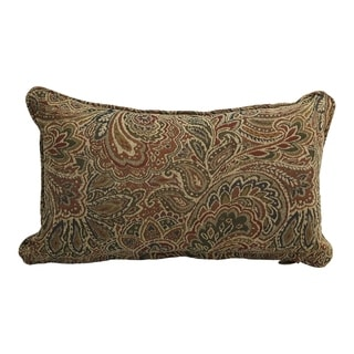 Link to 18-inch Corded Patterned Jacquard Chenille Lumbar Throw Pillow Similar Items in Decorative Accessories
