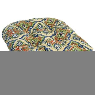 Link to 19-inch U-Shaped Spun Polyester Outdoor Tufted Dining Chair Cushion Similar Items in Patio Furniture