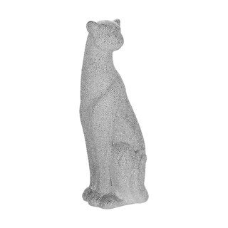 "Link to Ceramic 12"" Leopard Figurine, Silver Similar Items in Accent Pieces"